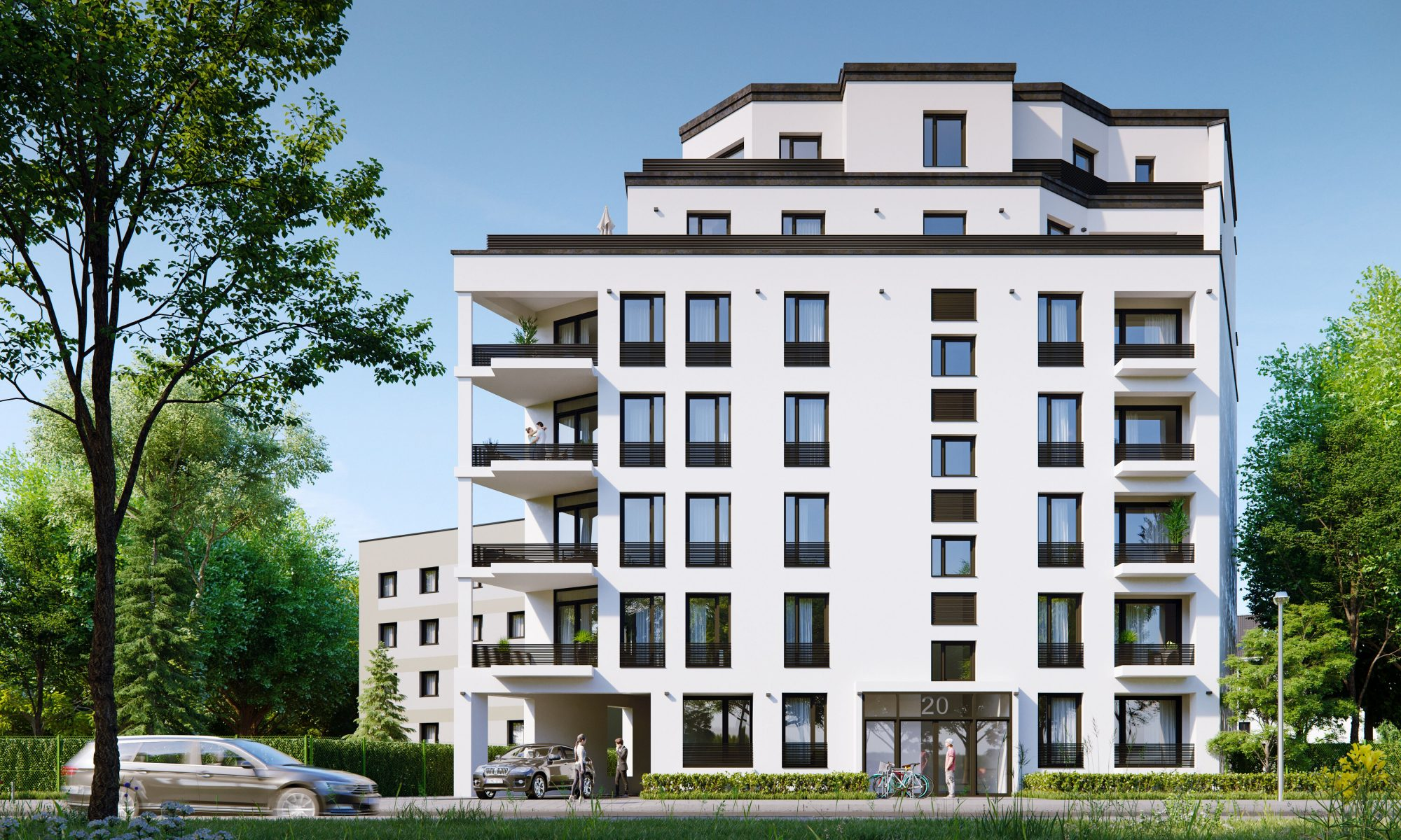 Neubauprojekte von Ioannis Moraitis und der hedera bauwert